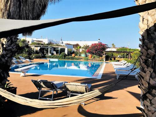 The swimming pool at or near Le Lanterne Resort