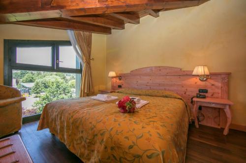 Ternate Apartment Sleeps 2 Air Con 객실 침대