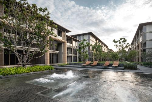 The swimming pool at or near Baan Mai Khao Beachfront [ Two-Bedroom Family Suite ]