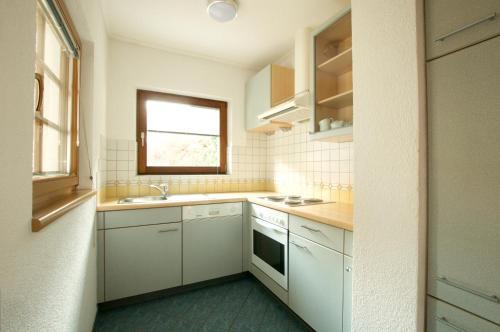 Küche/Küchenzeile in der Unterkunft Edelberg Apartments