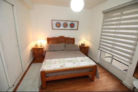 Cama o camas de una habitación en Cama king y cama 2 plazas Lastarria