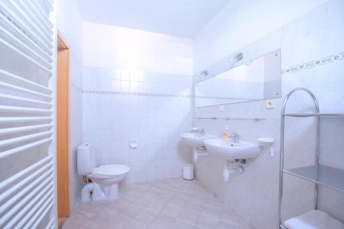 A bathroom at Apartment Vezenska