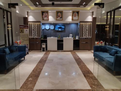 The lobby or reception area at Mera Houses Aparthotel