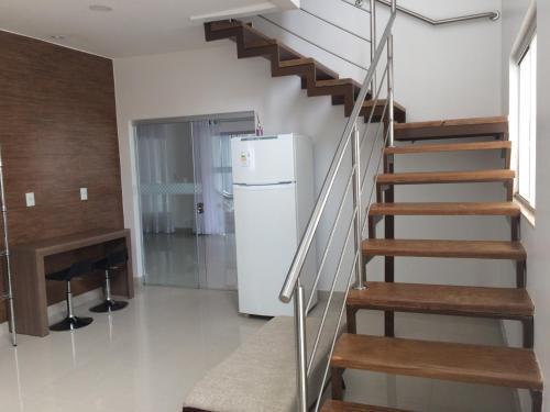 A kitchen or kitchenette at Casa com suítes em Brasília
