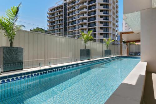The swimming pool at or near Quest South Brisbane