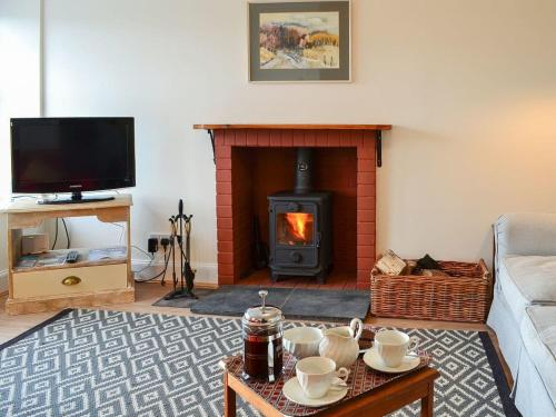A television and/or entertainment center at Thirlestane Cottage