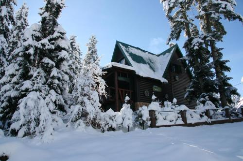 Durmitor Chalet during the winter