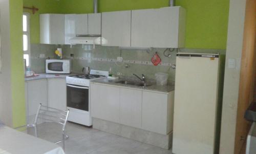 Una cocina o kitchenette en The vila gale flat