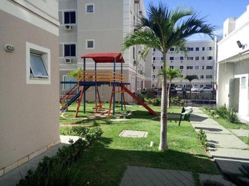 Children's play area at Apartamento
