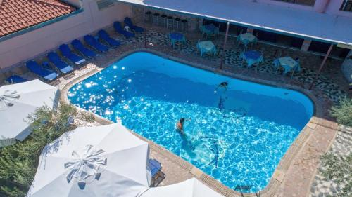 A view of the pool at Kleoni Club Apartments or nearby