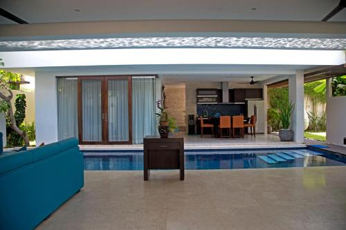 The swimming pool at or near Indi Villas Seminyak