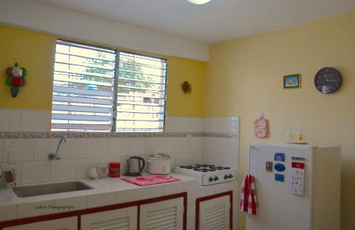 Una cocina o zona de cocina en Valia Vacation Apartment