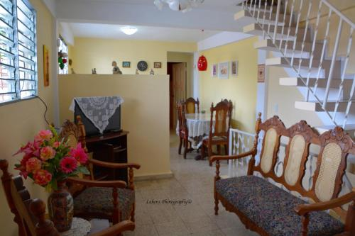 Zona de estar de Valia Vacation Apartment