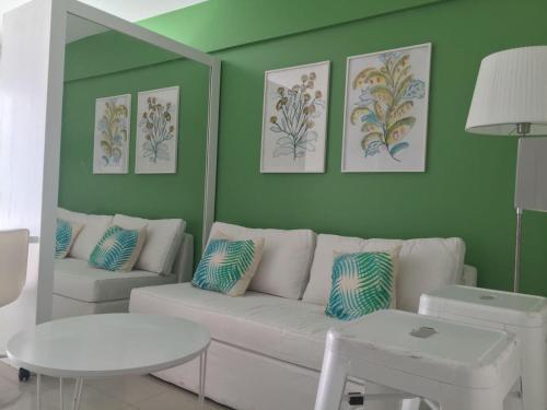 Un lugar para sentarse en 9 de Julio Park Suites