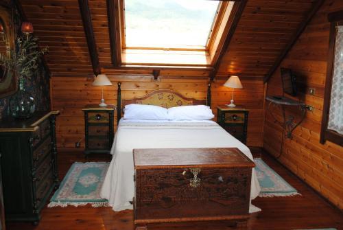 Cama o camas de una habitación en La Casita del Río