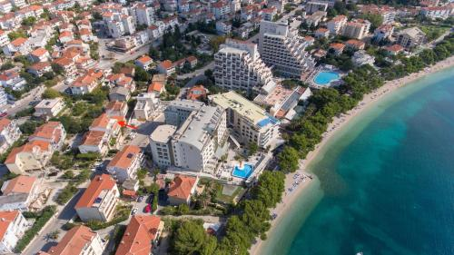 A bird's-eye view of Apartman Bepina