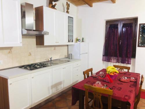 Aquila Di Mare tesisinde mutfak veya mini mutfak