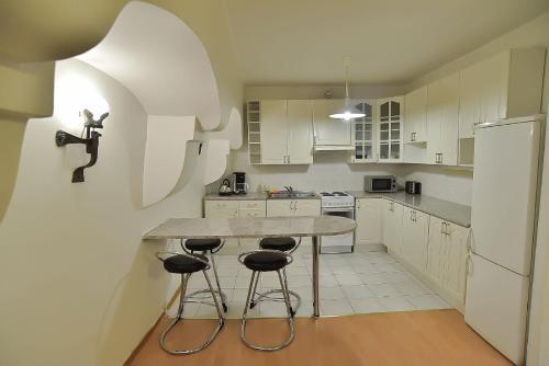 Köök või kööginurk majutusasutuses Vene 23 Apartments