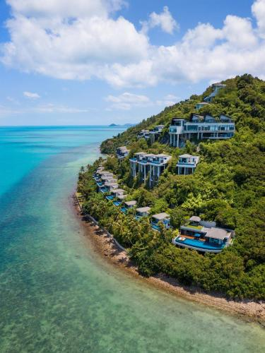 A bird's-eye view of Conrad Koh Samui
