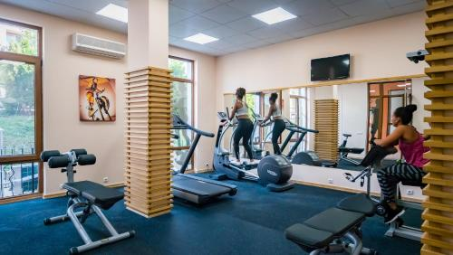 The fitness center and/or fitness facilities at Prestige Mer d'Azur