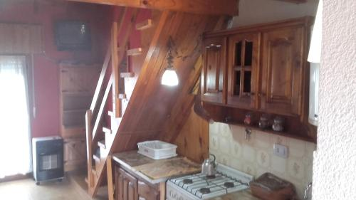Una cocina o kitchenette en Nueve Sol