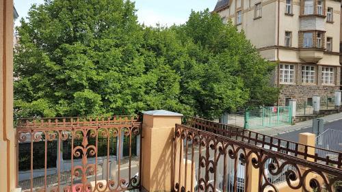 Balkón nebo terasa v ubytování Villa Wingolf