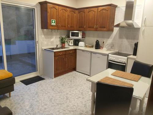 A kitchen or kitchenette at Mar de Prata
