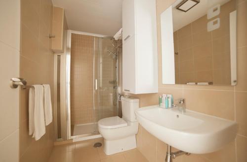A bathroom at Patio de la Cartuja