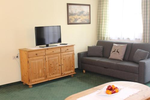 A television and/or entertainment center at Apart Hotel Garni Strasser