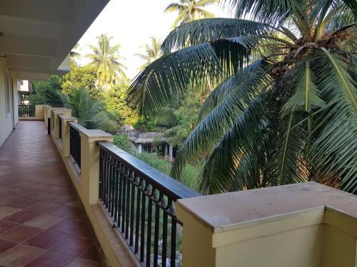 A balcony or terrace at Areia De Goa Arpora