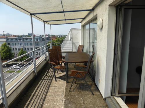 Balcon ou terrasse dans l'établissement Apartments Schöneberg