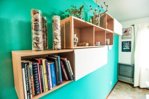 La biblioteca del departamento