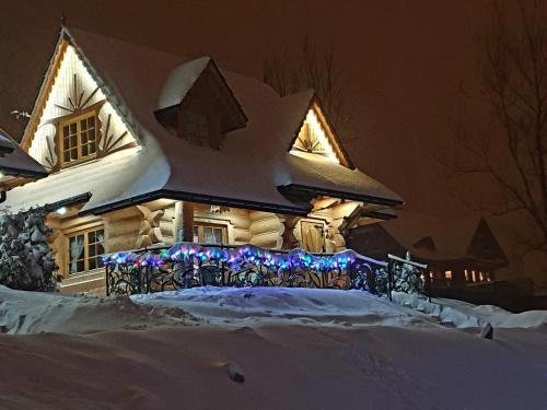 Obiekt Domek z widokiem-Deluxe zimą