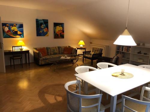Posezení v ubytování Casa Vesalia