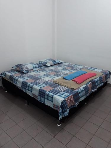 A bed or beds in a room at Studio Xavier