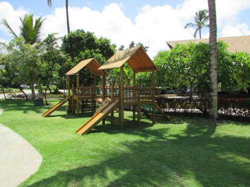 Parquinho infantil em Flat Nannai Residence - Beijupirá