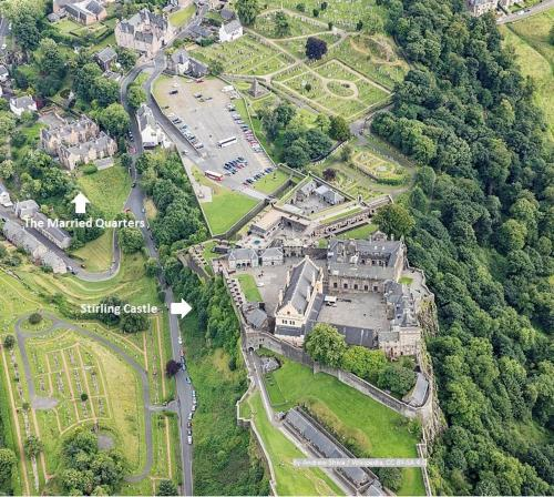 A bird's-eye view of The Married Quarters