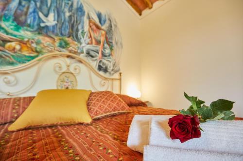 Letto o letti in una camera di Barottoli Casa Vacanze