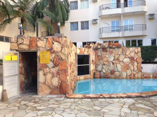 The swimming pool at or near Thermas Paradise Rio Quente-GO