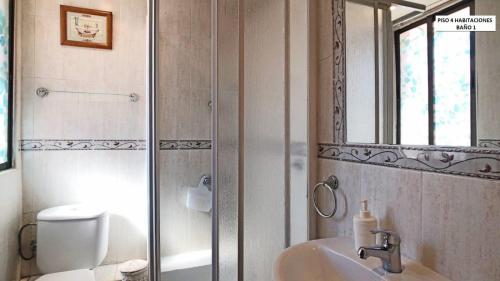 A bathroom at Apartamento Carabanchel