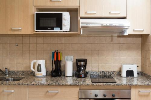 Una cocina o kitchenette en Civico Apartments