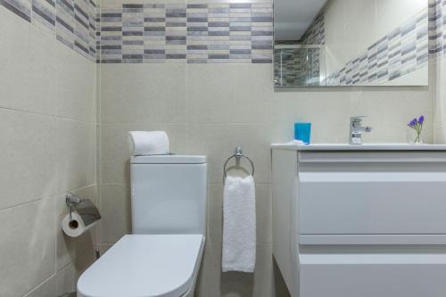A bathroom at Apartamento Calle Sierpes