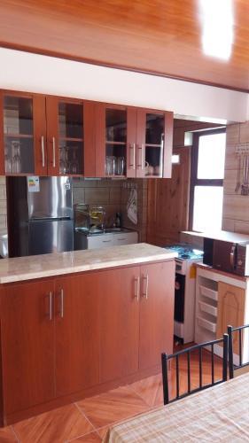 Una cocina o zona de cocina en Santa Lidia