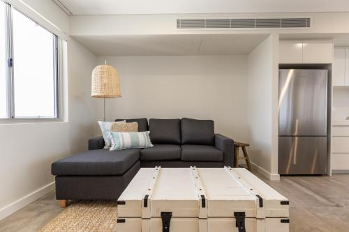 A seating area at Astina Suites, Forster