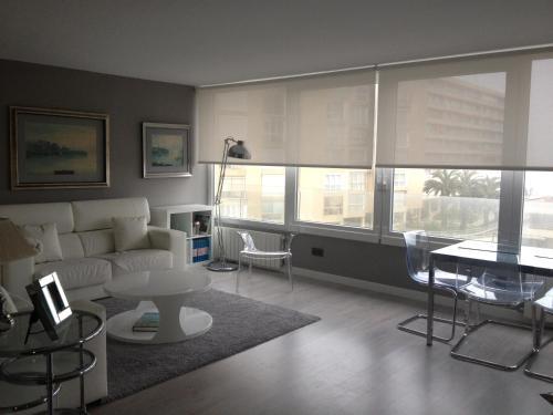Zona de estar de Apartamento Sardinero Feygon