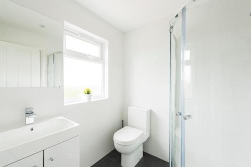 Salle de bains dans l'établissement High End Apartments