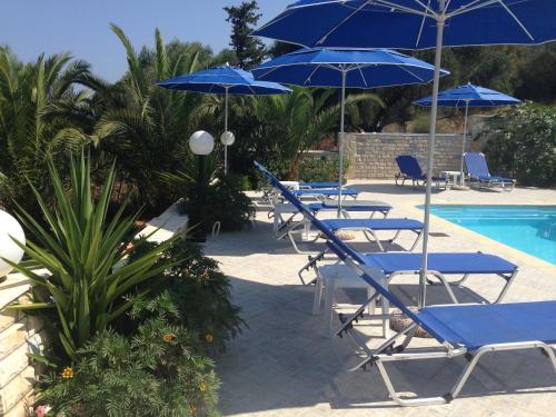 The swimming pool at or near Sami View