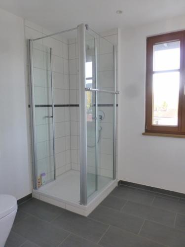 A bathroom at Ferienwohnung Imberg