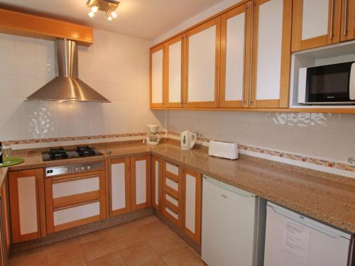 A kitchen or kitchenette at Apartment Puerto Playa