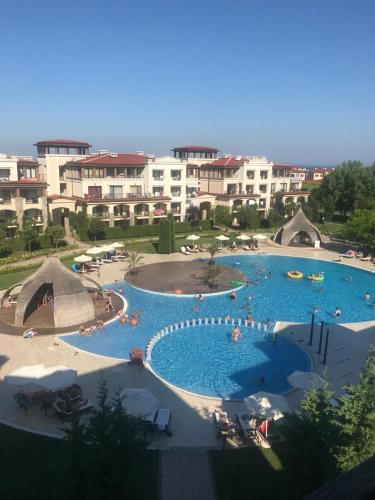 A view of the pool at Kevin's Apartments - Sozopol or nearby